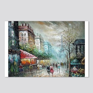 Paris 1920s - Painting Postcards (Package of 8)