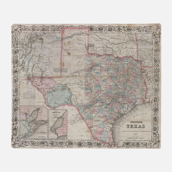 Cute Texas Throw Blanket