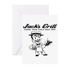 Jack's Grill Greeting Cards (Pk of 10)