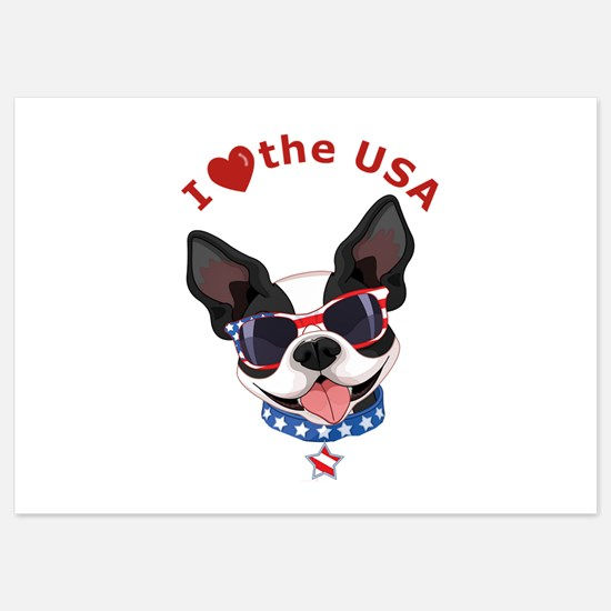 Love for the USA - Invitations