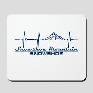 Snowshoe Mountain - Snowshoe - West Vi Mousepad