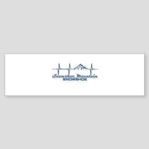 Snowshoe Mountain - Snowshoe - We Bumper Sticker