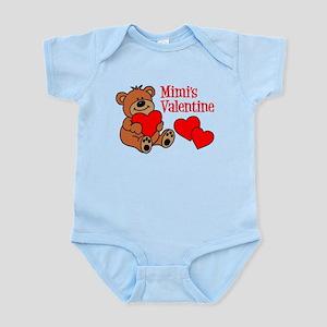 Mimi's Valentine Cartoon Bear Body Suit