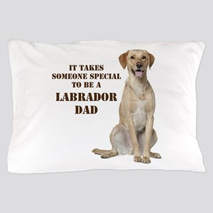 Yellow Lab Dad Pillow Case