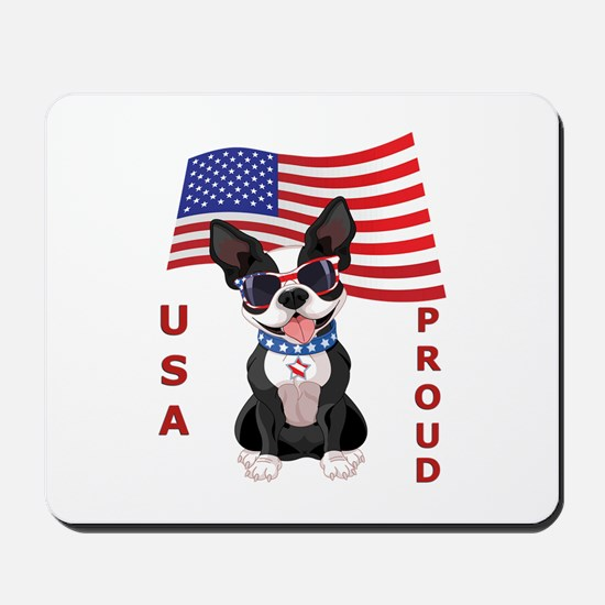 USA Proud - Mousepad