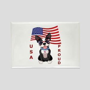 USA Proud - Rectangle Magnet