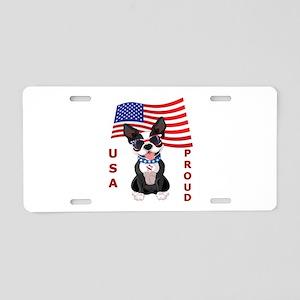 USA Proud - Aluminum License Plate