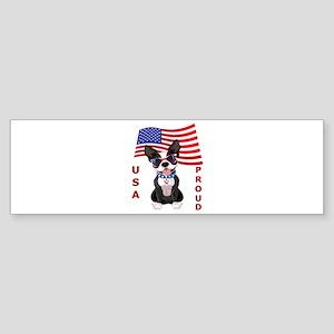 USA Proud - Sticker (Bumper)