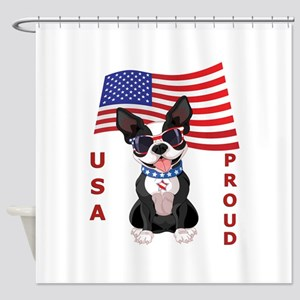 USA Proud - Shower Curtain