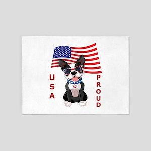USA Proud - 5'x7'Area Rug