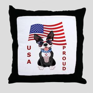 USA Proud - Throw Pillow