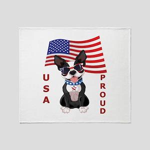 USA Proud - Throw Blanket
