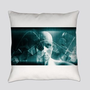 Medical Science Fu Everyday Pillow