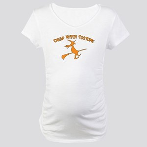 Cheap Witch Costume Maternity T-Shirt