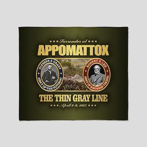 Appomattox (fh2) Throw Blanket