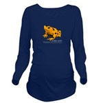 Atelopus Zeteki | Long Sleeve Maternity T-Shirt