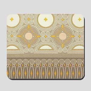 Art Nouveau Pattern Mousepad