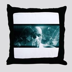 Medical Science Fu Throw Pillow