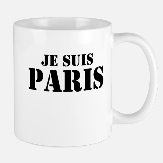 Je Suis Paris Mugs