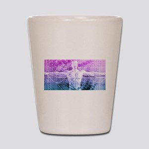 Science Research a Shot Glass