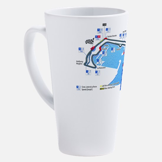 Cute Motorsport 17 oz Latte Mug