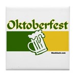 Oktoberfest Beer Tile Coaster