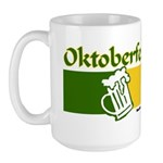 Oktoberfest Beer Large Mug