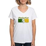 Oktoberfest Beer Women's V-Neck T-Shirt