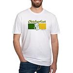 Oktoberfest Beer Fitted T-Shirt