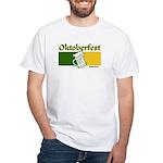 Oktoberfest Beer White T-Shirt