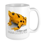 Atelopus Zeteki   Panamanian Golden Frog Mugs