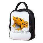 Atelopus Zeteki   Panamanian Neoprene Lunch Bag