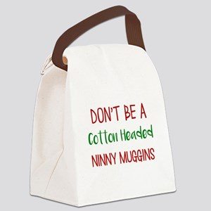 Cotton headed ninny muggins Canvas Lunch Bag