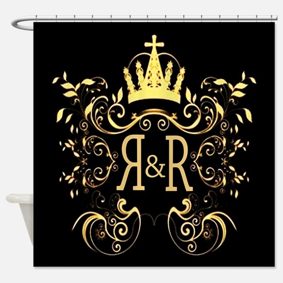 Rock and Royalty X Shower Curtain