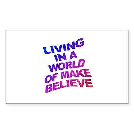 World of Make Believe Sticker