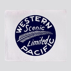 WP Scenic Limited Railway Throw Blanket