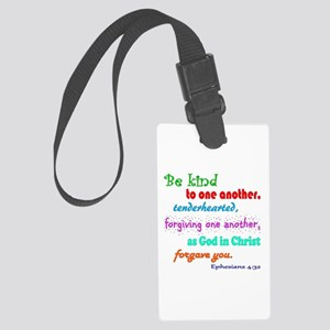 Be Kind Large Luggage Tag