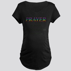 Prayer Maternity T-Shirt