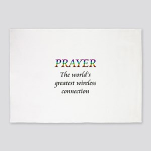 Prayer 5'x7'Area Rug