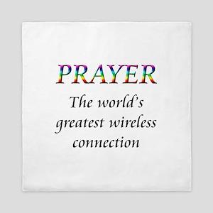 Prayer Queen Duvet
