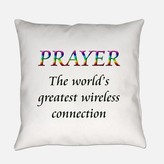 Prayer Everyday Pillow