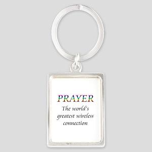 prayer copy Keychains