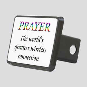 Prayer Rectangular Hitch Cover
