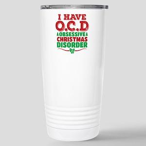 I Have OCD Obsessive Christmas Disorder Travel Mug