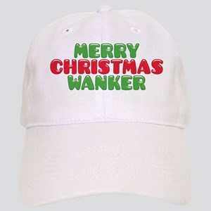 Merry Christmas Wanker Baseball Cap