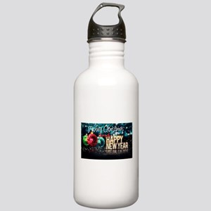 Merry Christmas,New Ye Stainless Water Bottle 1.0L