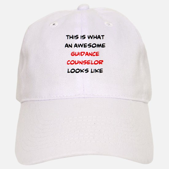 awesome guidance counselor Baseball Baseball Cap