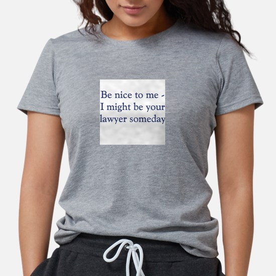 Lawyer Someday Women's Pink T-Shirt