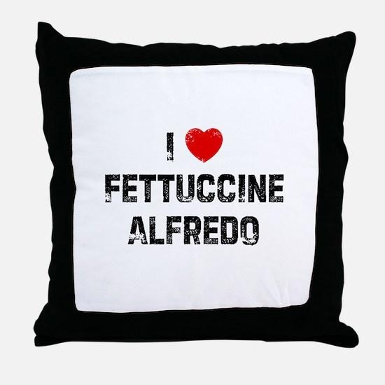 I * Fettuccine Alfredo Throw Pillow