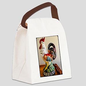 Coq de Bonne Chance Canvas Lunch Bag